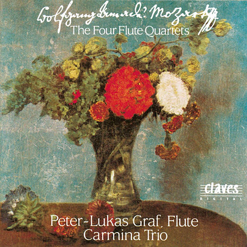 W. A. Mozart : The Four Flute Quartets by Peter-Lukas Graf