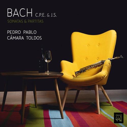 BACH C.P.E. & J.S. Sonatas & Partitas de Pedro Pablo Cámara Toldos