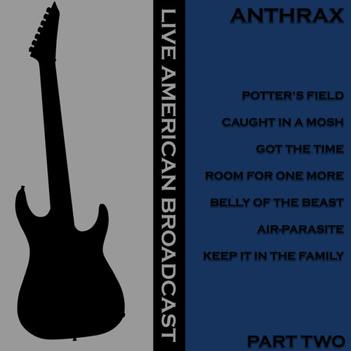 Live American Radio Broadcast -Anthrax - Part Two (Live) von Anthrax
