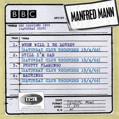 BBC Sessions (Saturday Club Recorded 1966) de Manfred Mann