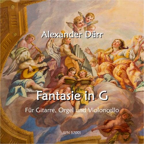 Fantasie in G für Gitarre und Orgel (Instrumental) von Alexander Därr