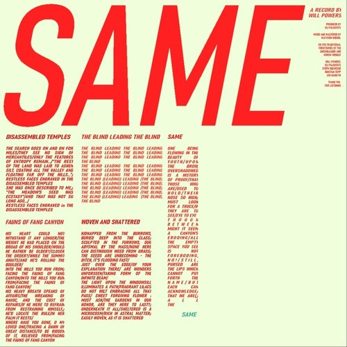 Same by Will Powers