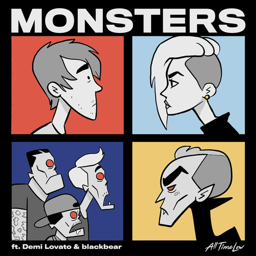 Monsters (feat. Demi Lovato and blackbear) de All Time Low