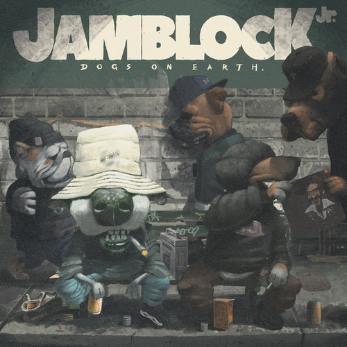 Dogs on Earth by Jam Block Jr