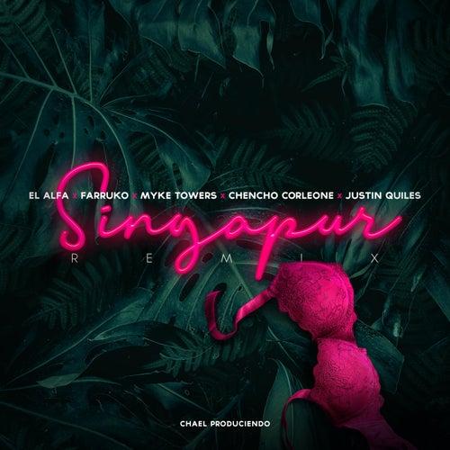 Singapur (Remix) [feat. Myke Towers & Justin Quiles] de Farruko & El Alfa