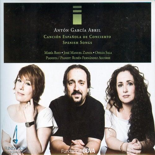 Antón García Abril. Canción Española de Concierto / Spanish Songs. CD 3. María Bayo, José Manuel Zapata, Ofelia Sala & Rubén Fernández Aguirre von Various Artists
