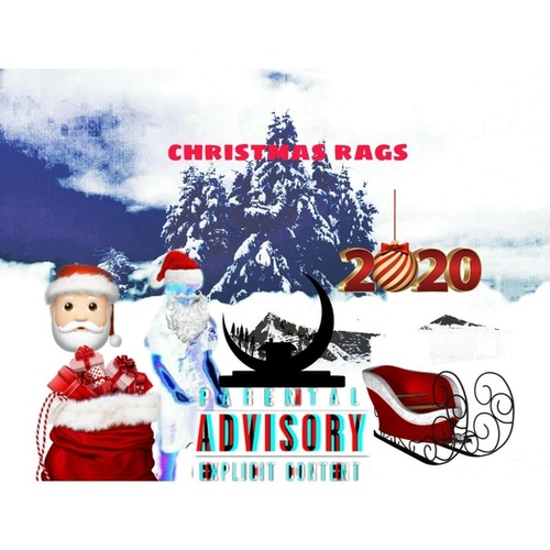 Christmas rags by Ludlee