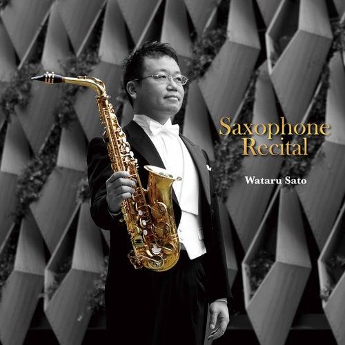 Saxophone Recital von Wataru Sato