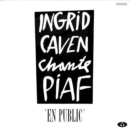 Chante Piaf (En public) by Ingrid Caven