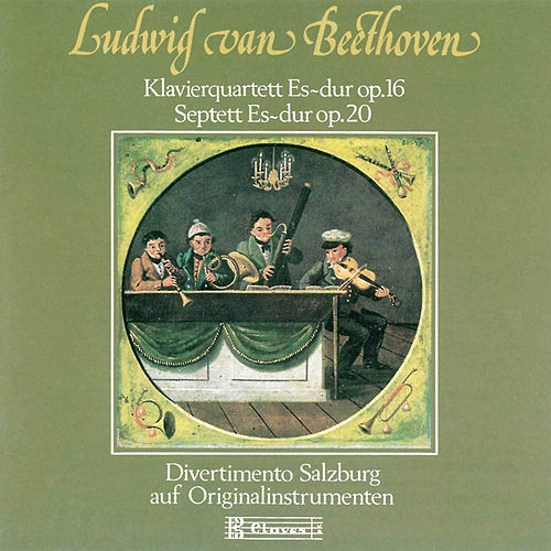 Beethoven : Quartet for Piano and Strings, Op. 16 & Septet, Op. 20 by Various Artists