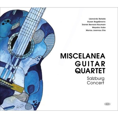 Salzburg Concert von Miscelanea Guitar Quartet