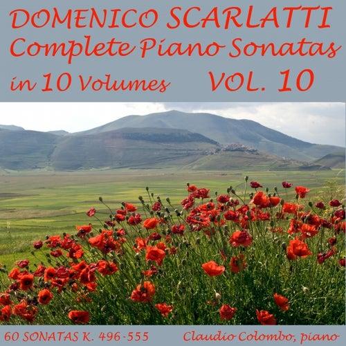 Scarlatti: Complete Piano Sonatas in 10 Volumes, Vol. 10 by Claudio Colombo