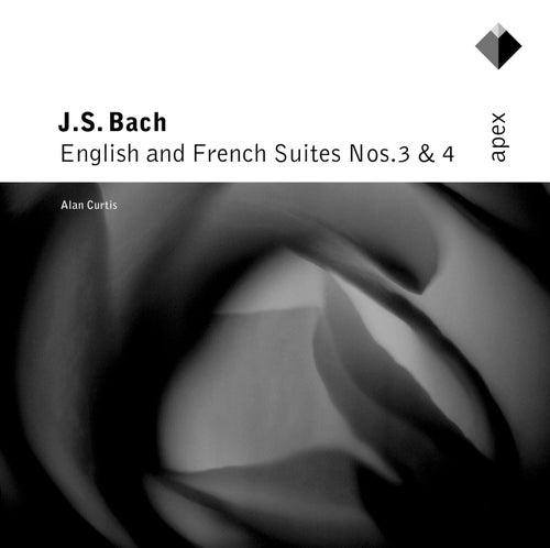 Bach, JS : English & French Suites Nos 3 & 4 (-  Apex) de Alan Curtis