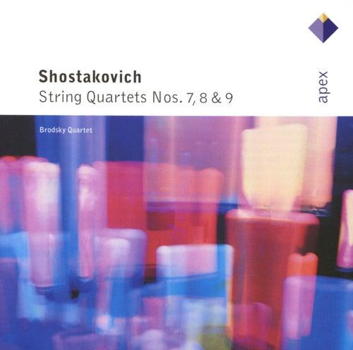 Shostakovich : String Quartets Nos 7, 8 & 9 von Brodsky Quartet
