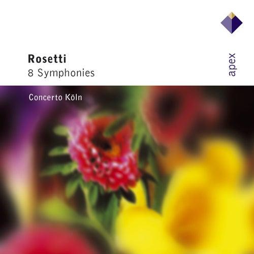 Rosetti : 8 Symphonies von Concerto Köln