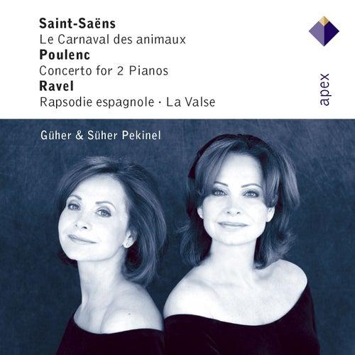 Saint-Saëns, Poulenc, Infante & Ravel : Piano Works (-  Apex) von Marek Janowski