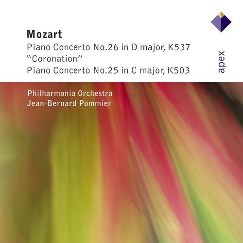 Mozart : Piano Concertos Nos 25 & 26, 'Coronation' by Jean-Bernard Pommier