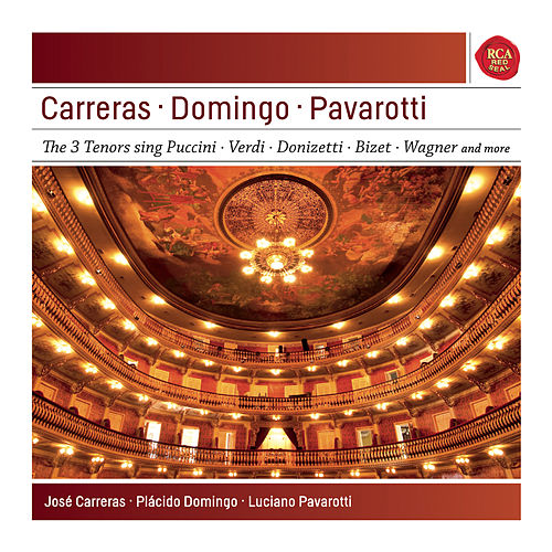 Pavarotti - Domingo - Carreras: The Best of the 3 Tenors - Sony Classical Masters by Various Artists