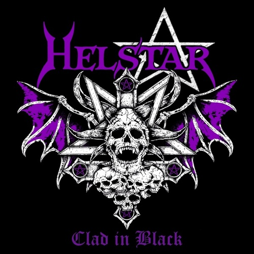 Clad in Black by Helstar