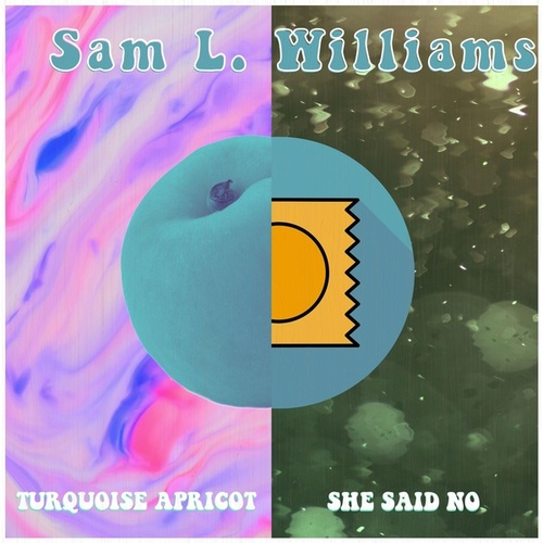 Turquoise Apricot / She Said No by Sam L. Williams