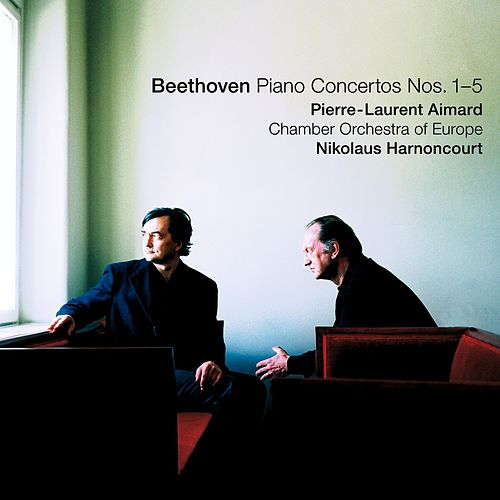 Beethoven : Piano Concertos Nos  1 - 5 de Pierre-Laurent Aimard, Nikolaus Harnoncourt & Chamber Orchestra of Europe