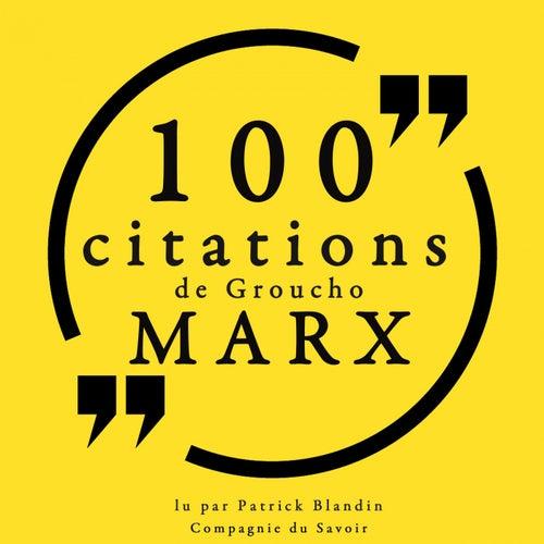 100 citations de Groucho Marx (Collection 100 citations) by Groucho Marx