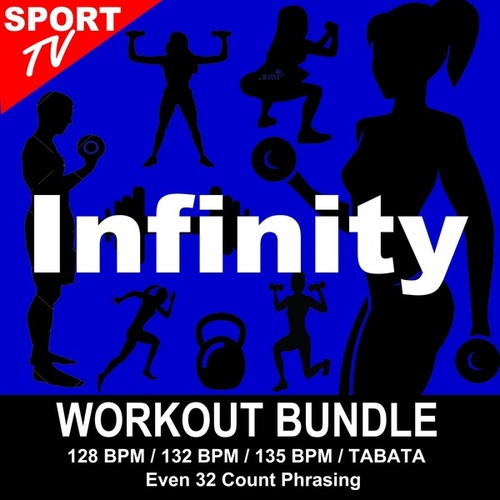 Infinity (Workout Bundle / Even 32 Count Phrasing) (The Best Music for Aerobics, Pumpin' Cardio Power, Tabata, Plyo, Exercise, Steps, Barré, Curves, Sculpting, Abs, Butt, Lean, Running, Slim Down Fitness Workout) de Workout ReMix Team