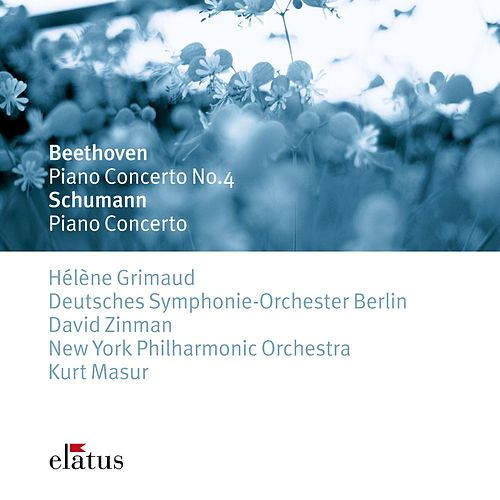 Beethoven & Schumann : Piano Concertos von Hélène Grimaud