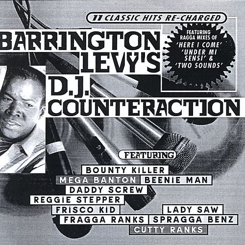Barrington Levy's DJ Counteraction (11 Classic Hits Re-Charged) by Barrington Levy