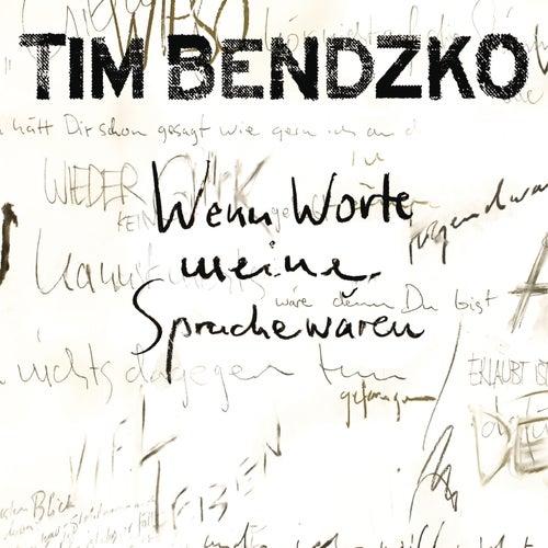 Wenn Worte meine Sprache wären von Tim Bendzko