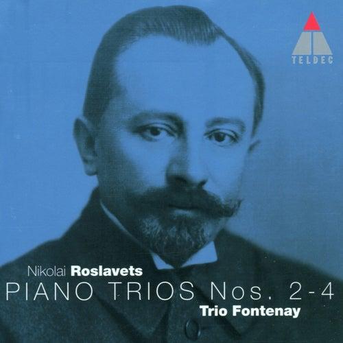 Roslavets : Piano Trios Nos 2 - 4 by Trio Fontenay