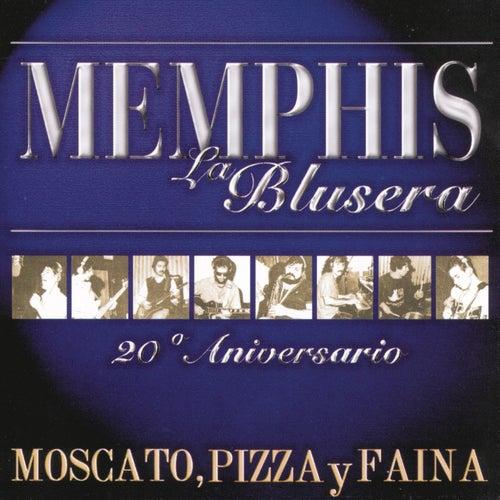 Moscato Pizza Y Fainá de Memphis La Blusera
