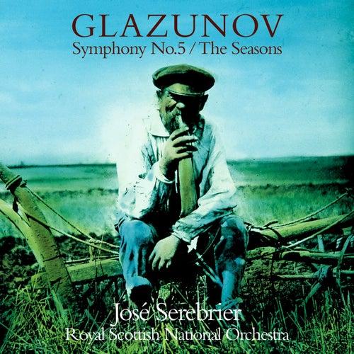 Glazunov : Symphony No.5 & The Seasons by José Serebrier