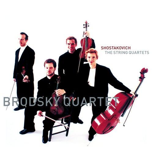 Shostakovich : String Quartets Nos 1 - 15 [Complete] von Brodsky Quartet