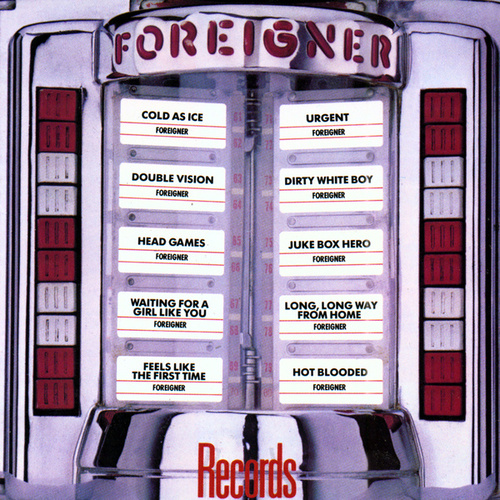 Records von Foreigner