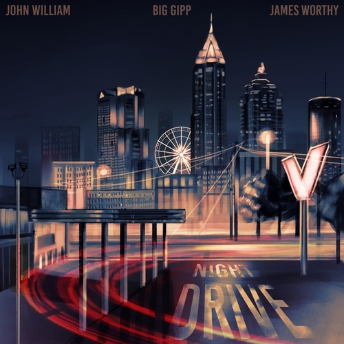Night Drive (feat. Big Gipp & James Worthy) by Flautist John William