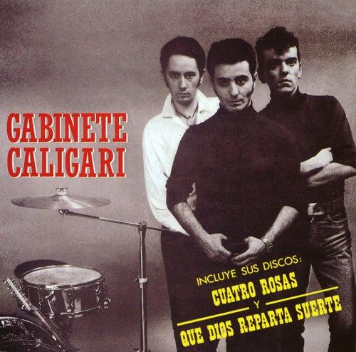 4 Rosas Y Que Dios Reparta Suerte de Gabinete Caligari