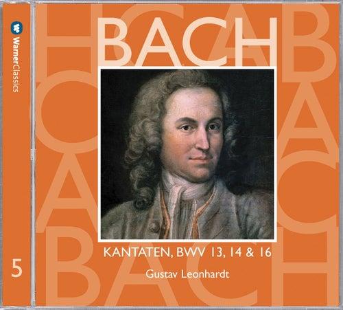 Bach, JS : Sacred Cantatas BWV Nos 13, 14 & 16 by Gustav Leonhardt
