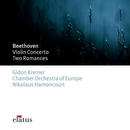 Beethoven : Violin Concerto & 2 Romances (-  Elatus) von Nikolaus Harnoncourt
