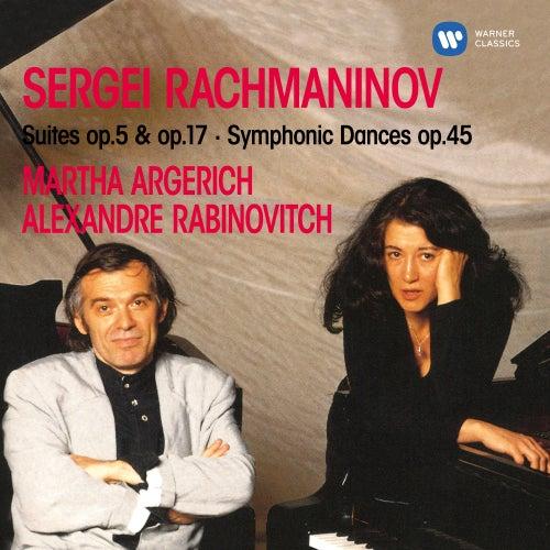 Rachmaninoff: Suites, Op. 5 & 17 & Symphonic Dances, Op. 45 by Martha Argerich
