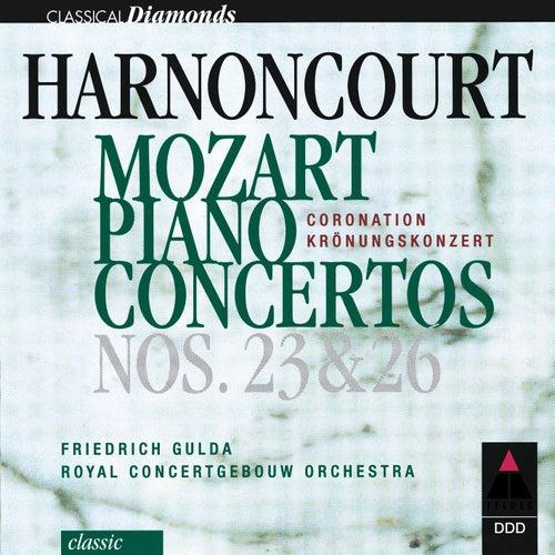 Mozart : Piano Concertos Nos 23 & 26 by Nikolaus Harnoncourt