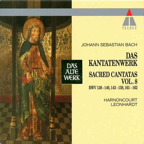 Bach : Sacred Cantatas Vol.8 : BWV 138-140, 143-159, 161-162 by Nikolaus Harnoncourt
