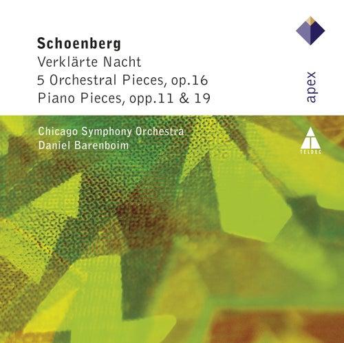 Schonberg : Verklärte Nacht, 5 Orchestral Pieces & Piano Works by Daniel Barenboim