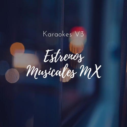 Karaokes, Vol. 3 by Estrenos Musicales MX