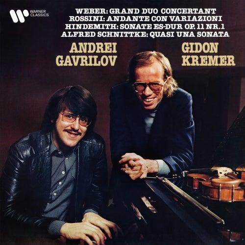 Weber, Rossini, Hindemith & Schnittke: Works for Violin and Piano von Gidon Kremer
