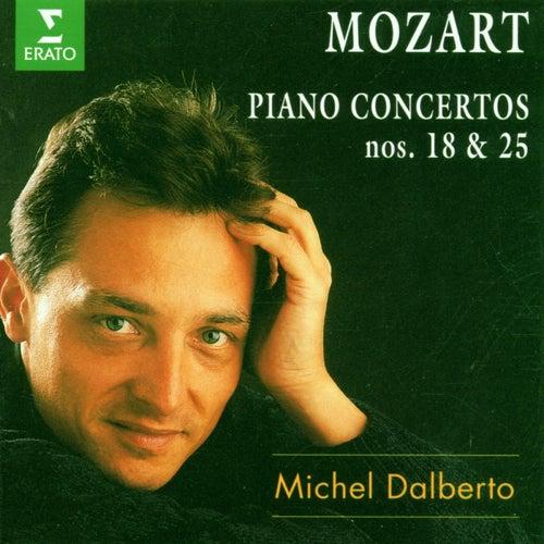 Mozart : Piano Concertos Nos 18 & 25 by Michel Dalberto
