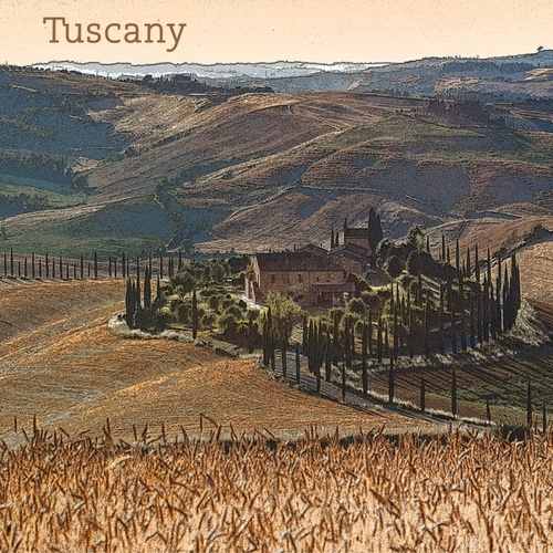 Tuscany by Ben Webster