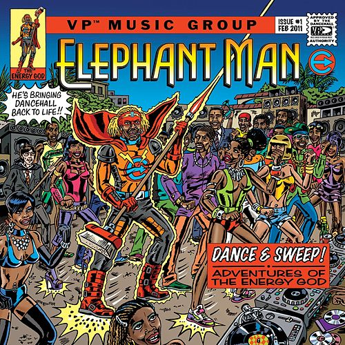 Dance & Sweep! - Adventures Of The Energy God von Elephant Man