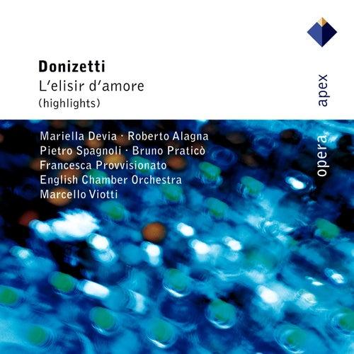 Donizetti : L'elisir d'amore [Highlights] von Marcello Viotti
