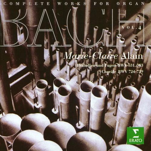 Bach, JS : Complete Organ Works Vol.4 von Marie-Claire Alain